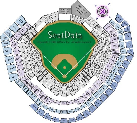 Comerica Park Baseball Zone View Images Frompo