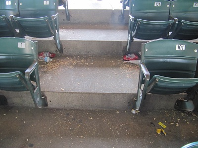Wrigley Field Seat numbers