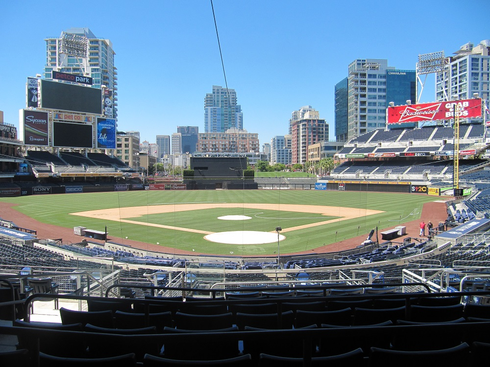View from Padres Premier Club Seats