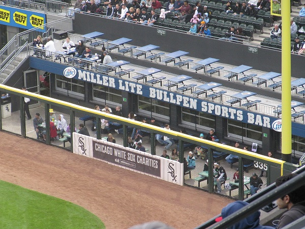 US Cellular Bullpen Sports Bar
