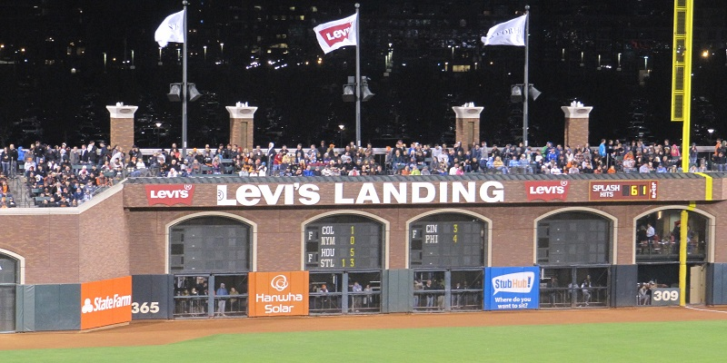 Levi's Landing at SF Giants