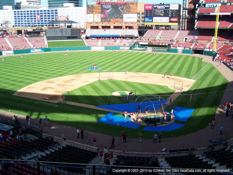 Busch Stadium Section 252 view