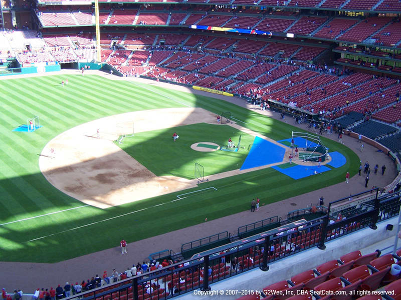 Busch Stadium Section 359 view