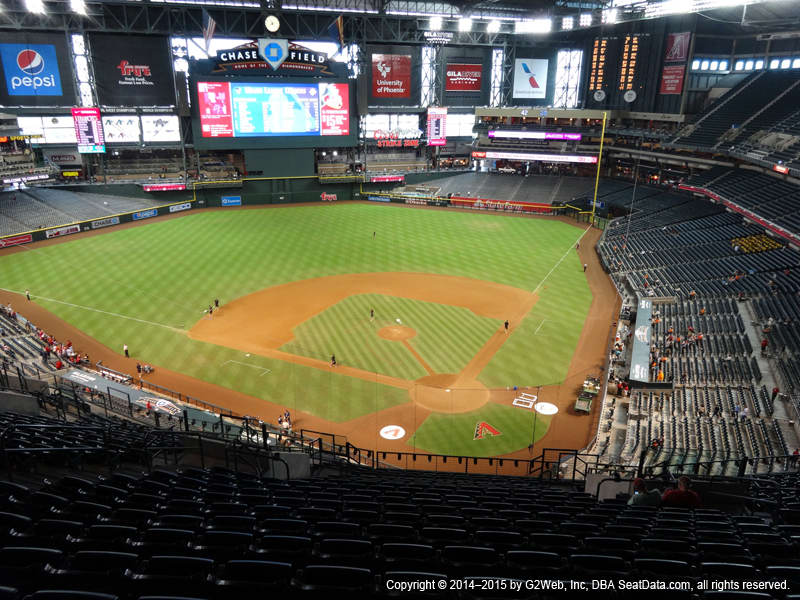 Chase Field Section 318 view