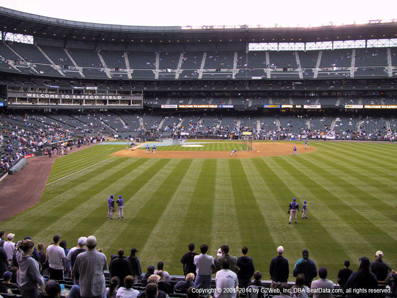 T-Mobile Park Section 108 view