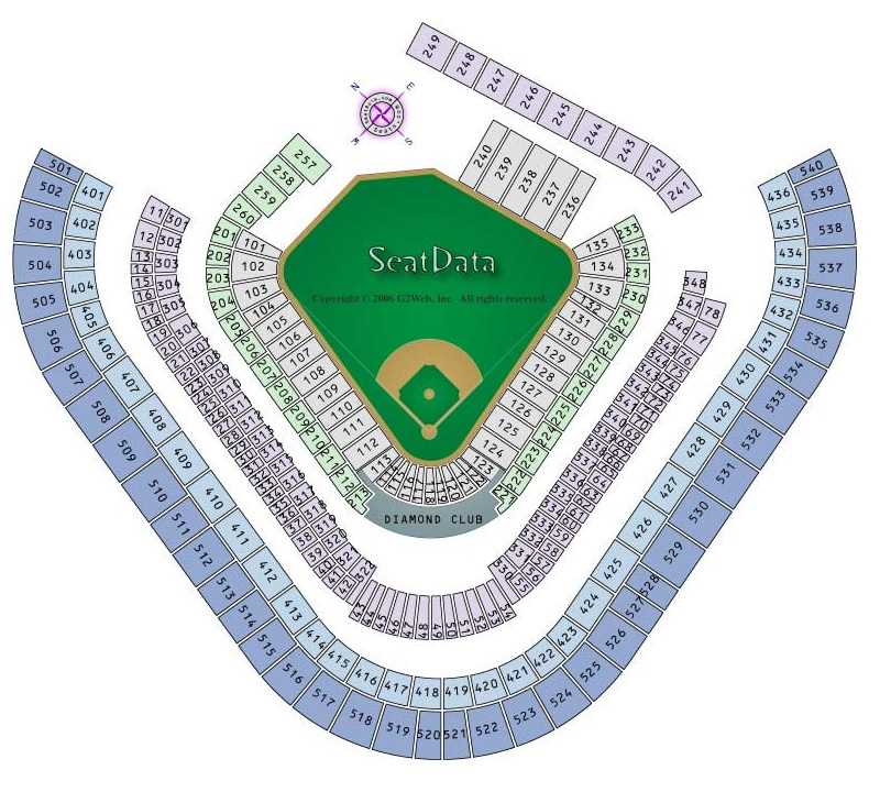 Angels Stadium Seating Chart