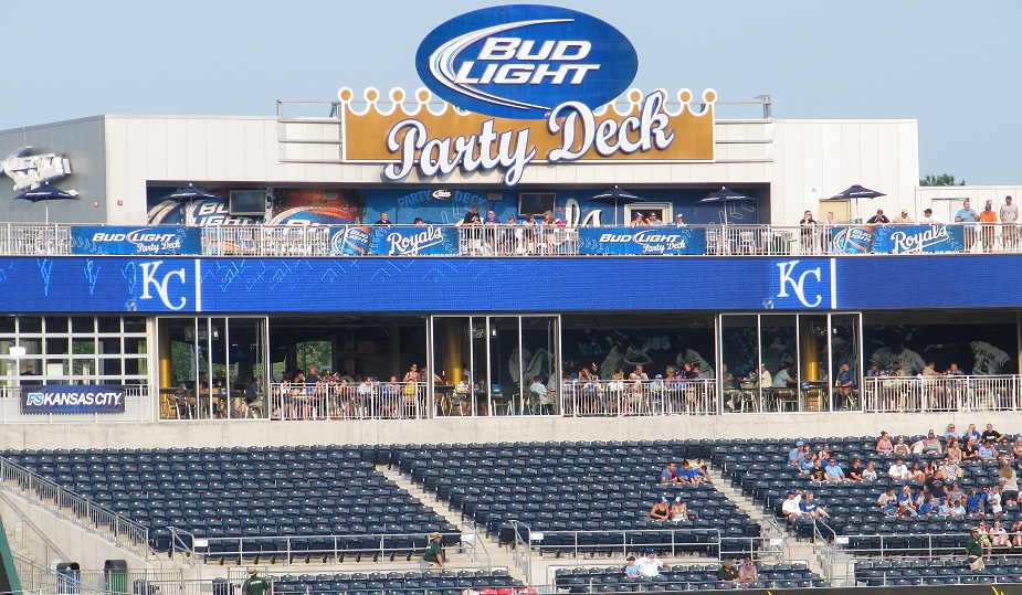 Rivals Sports Bar and Bud Light Party Deck - Kauffman Stadium
