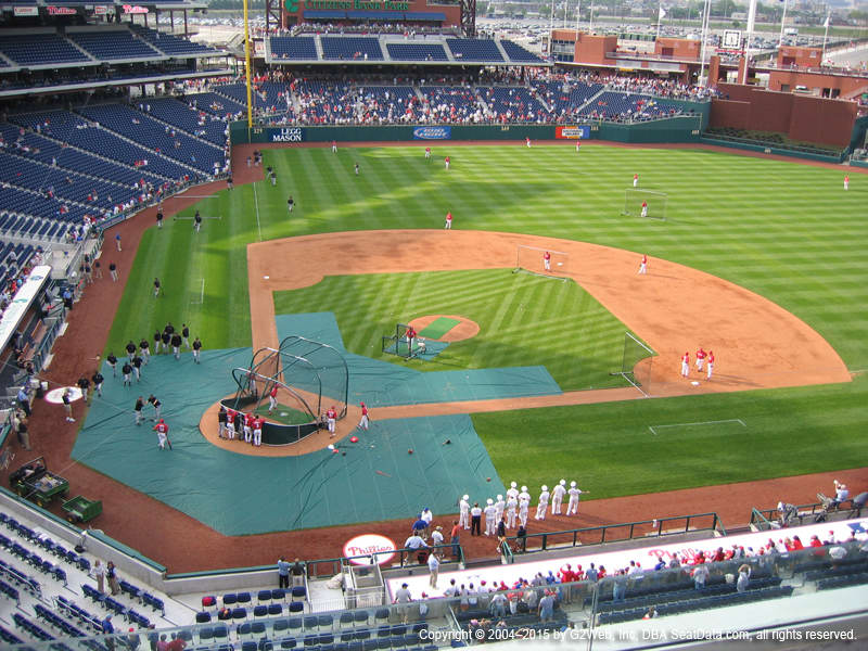Citizens Bank Park Section 317 view