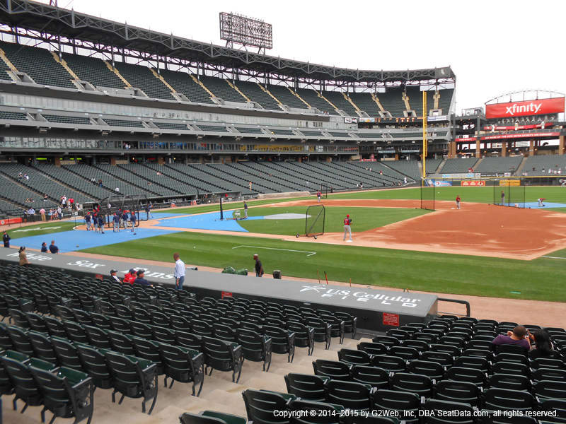 Best Seats For Chicago White Sox At Guaranteed Rate Field - Us-cellular-seat-map
