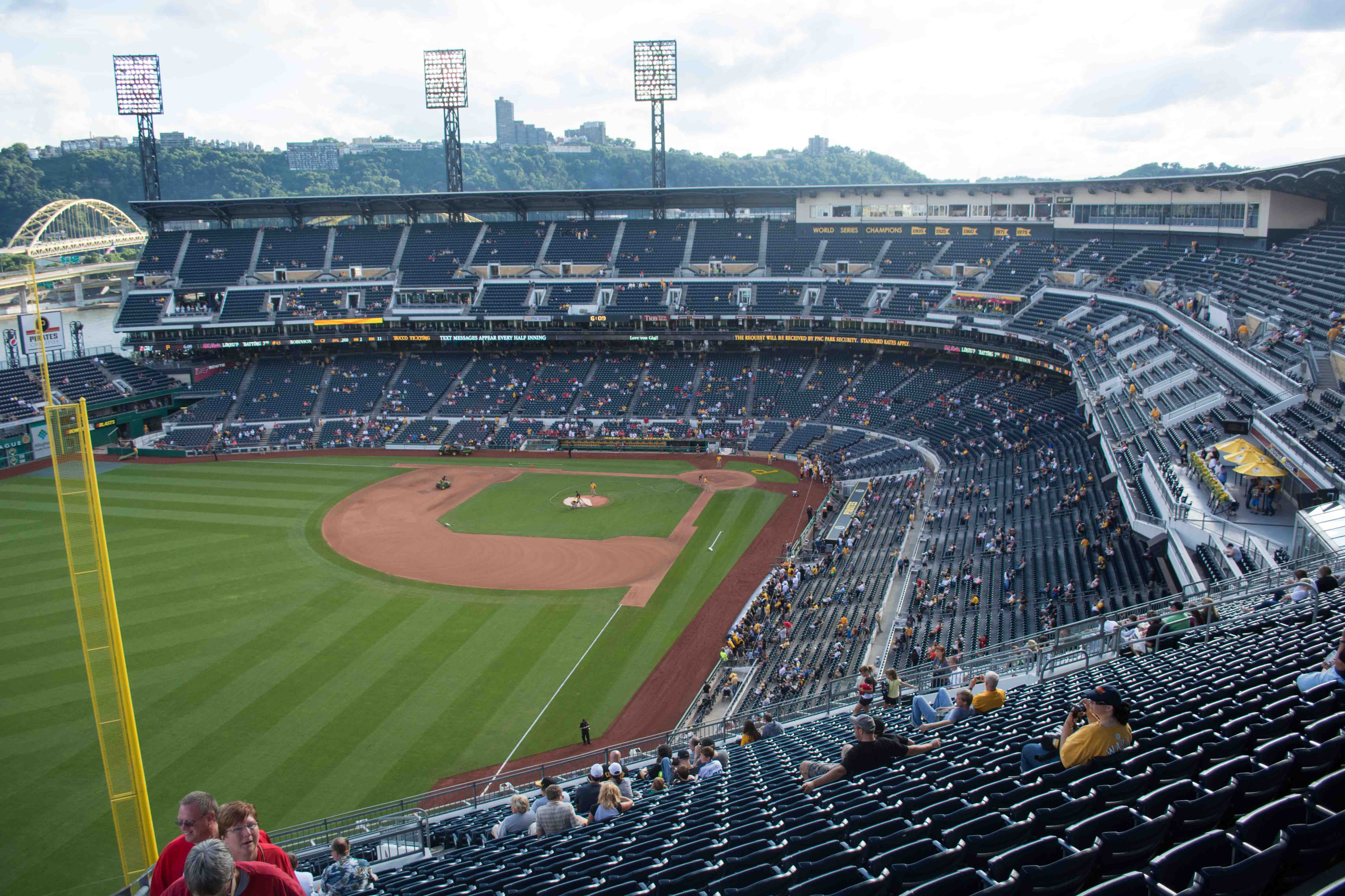 Pirates Grandstand Seats